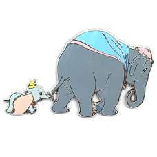 ACME/HotArt - Classic Cutout - Family Portrait - Dumbo Walking with Mother