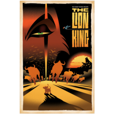 ACME/HotArt - Limited Releases - The Lion King Poster