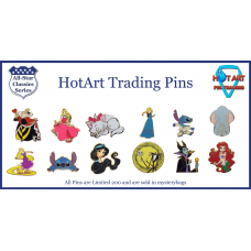 Monthly Subscription -  2 LE 200 HotArt Trading Pins