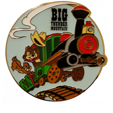 DLP - Big Thunder Mountain attraction Chip and Dale cowboy