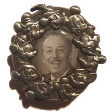 DLP - Framed Walt Disney thru Years