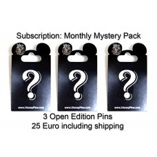 Monthly Subscription -  3 Open Editions