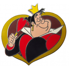 USA -   Villains In Frames Series - Queen of Hearts
