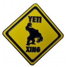 USA -  Animal Kingdom - Expedition Everest - ''YETI XING'' Street Sign